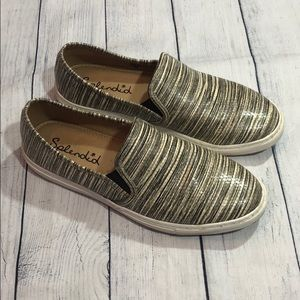 Splendid San Diego Striped Slip Ons Sneakers